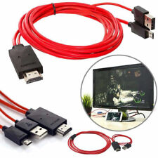 MHL USB to HDMI 2M HD TV Adapter Cable for Samsung Galaxy Tab 3 10.1 8.0 Tablet