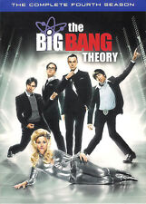 The Big Bang Theory The Complete Fourth Season DVD 3-Disc Box Set with Slipcover