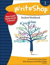 WriteShop 1 Student Workbook-Teaching Writing-Middle School(6-10) Homeschool NEW