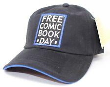 Free Comic Book Day Black Adjustable back Cap Dad Hat