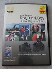 Nikon DVD Great Digital Pictures with the Nikon D40 and D40X cameras