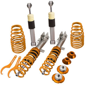 Height Adjustable Coilovers suspension for Fiat 500 Panda 1.2 1.3 1.4 Coilover