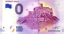 SLOVAQUIE Žehra, Spišský hrad, 2018, Billet 0 € Souvenir