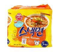 Korean Instant Noodle OTTOGI SNACK MYUN Ramen Ramyun 5pack Set