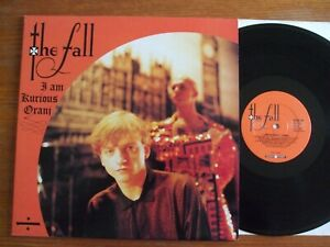 LP THE FALL I AM KURIOUS ORANJ 1988 UK 1ST PRES IN TOP CONDITION !!!! SUPERBE NM