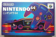 Nintendo 64 Console System With Box