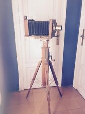 ANTIQUE GERMAN CAMERA+TRIPOD+ACCESORIES