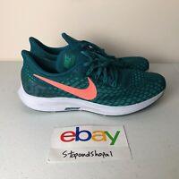 Nike Air Zoom Pegasus 35 Running Shoe Blue/Green Size 10.5 Men 942851 300 Used