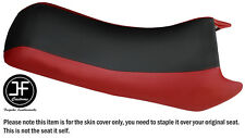 BLACK & D RED VINYL CUSTOM FITS YAMAHA WAVE RUNNER LX 500 650 89-93 SEAT COVER