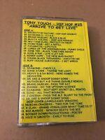 DJ Tony Touch Tape #25 Arrive to Get Live NYC Hip Hop 90s Cassette Mixtape Tape