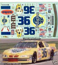 NASCAR DECAL #36 PEDIGREE 1999 PONTIC GRAND PRIX  ERNIE IRVAN SLIXX