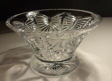 """Waterford Crystal MILLENNIUM (1996-2005) Happiness Footed Bowl 6 1/4"""""""