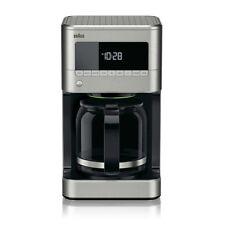 New listing Braun Brewsense 12-Cup Drip Coffee Maker Kf7170 Stainless Steel