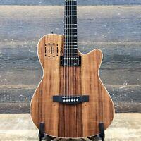 "Godin A6 Ultra Koa High-Gloss ""B-Stock"" Electric-Acoustic Guitar w/Bag #20215146"