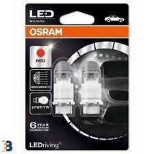 OSRAM P27/7W LED Premium 12V Ampoules de frein ROUGE 180 3157 3557R-02B SET