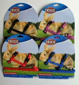 Trixie Rabbit Harness & Lead Set Adjustable Nylon Small Animal Pet Exercise