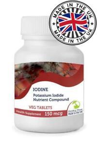 Iodine Potassium 150mcg Tablets Nutrition