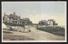Postcard MAGNOLIA Massachusetts/MA  Shore Road Tourist Cottages 1907