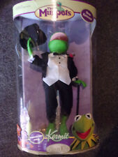 "The Muppets Kermit The Frog 12"" Porcelain Doll By Brass Key Keepsakes Unopened"