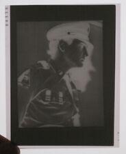 Elvis Presley 2 3/4 x 3 1/2 Original Negative Army W/ Photo 1958 RARE