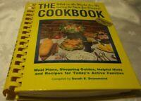 Vintage 1st Edition 1988 'THE COOKBOOK' By Sarah E. Drummond -Spiral Bound    V1