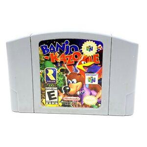 Banjo Kazooie Video Game Cartridge Console Card US Version For Nintendo N64