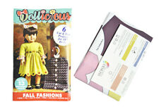 Dollicious Fall Fashions Sewing Designs for 18 inch Dolls
