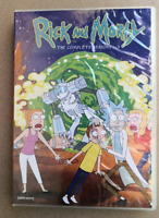 Rick and Morty : Complete TV Series Season 1-4 (DVD, 8-Disc Set) New & Sealed