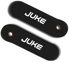 Coppia Copricintura copri cintura per Nissan Juke personalizzati con ricami