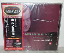 SACD MOZART - HORN CONCERTOS NOS 1-4 - BRAIN - JAPAN - TOGE-12022