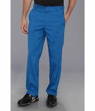 NIKE TECH GOLF mens pants FLAT FRONT 472532 SIZE 38X32 military blue