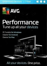 AVG Performance 2016 - Unlimited Devices / 1 Year