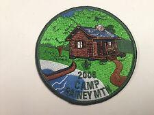 Boy Scout Camp Patch, Camp Rainey Mountain Georgia 2008, Mowogo 243, MINT