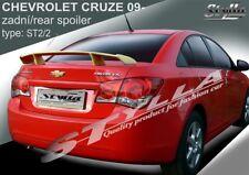 Spoiler Rear Trunk Boot Tailgate Chevrolet Cruze Sedan Brand Wing Accessories