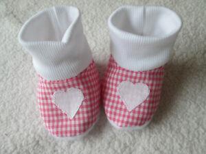 Puppenkleidung Puppensocken  geringelt Farbe wählen Fußlänge 7 cm