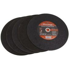 """Pack of 5  14 """" 350 mm Abrasive Metal Cutting Discs / Blades"""