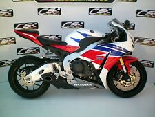 Honda CBR 1000RR 2012-14 (12-16 USA) CS Racing Exhaust Slip-on Muffler + Baffle