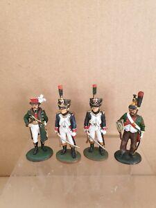 Del Prado Napolionic soldiers x4 all in good condition.