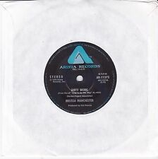 """MELISSA MANCHESTER - DIRTY WORK - 7"""" 45 RECORD"""