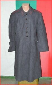 Bulgarian Army Soldier Cold War Greatcoat Winter wool Uniform Infantry Artillery