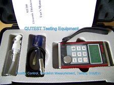 Digital Ultrasonic Thickness Gauge Meter w/ Menu Screen Dual Resolution Al Body