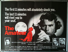 Cinema Poster: AMATEUR, THE 1981 (QUAD) John Savage Christopher Plummer