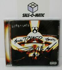 SIMON SAYS - SHUT YOUR BREATH 2001 ROCK CD (AUTOGRAPHED)