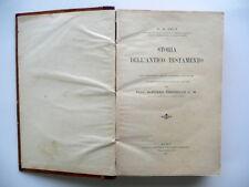 Storia dell'Antico Testamento G. B. Pelt Francesco Ferrari Roma 1907 Religione