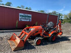 2018 Kubota BX23S 4x4 Hydro 23Hp Compact Tractor Loader Backhoe w/ 900 Hrs