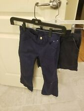 Lot of  2 Girl's Uniform Bottoms,  1 Gymboree pant and 1 Old Navy short size 6