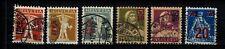 Briefmarken Schweiz  156 - 161 gestempelt  Freimarken