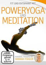 DVD Poweryoga und Meditation Personal Training mit Hannah Fühler