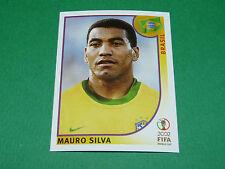 N°179 SILVA BRASIL BRESIL PANINI FOOTBALL JAPAN KOREA 2002 COUPE MONDE FIFA