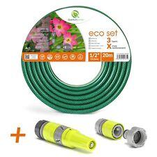 20m rinforzato tubo per innaffiare giardino con set spray innaffiamento ugello